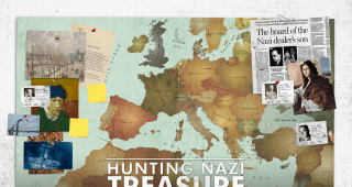Hunting Nazi Treasure Poster