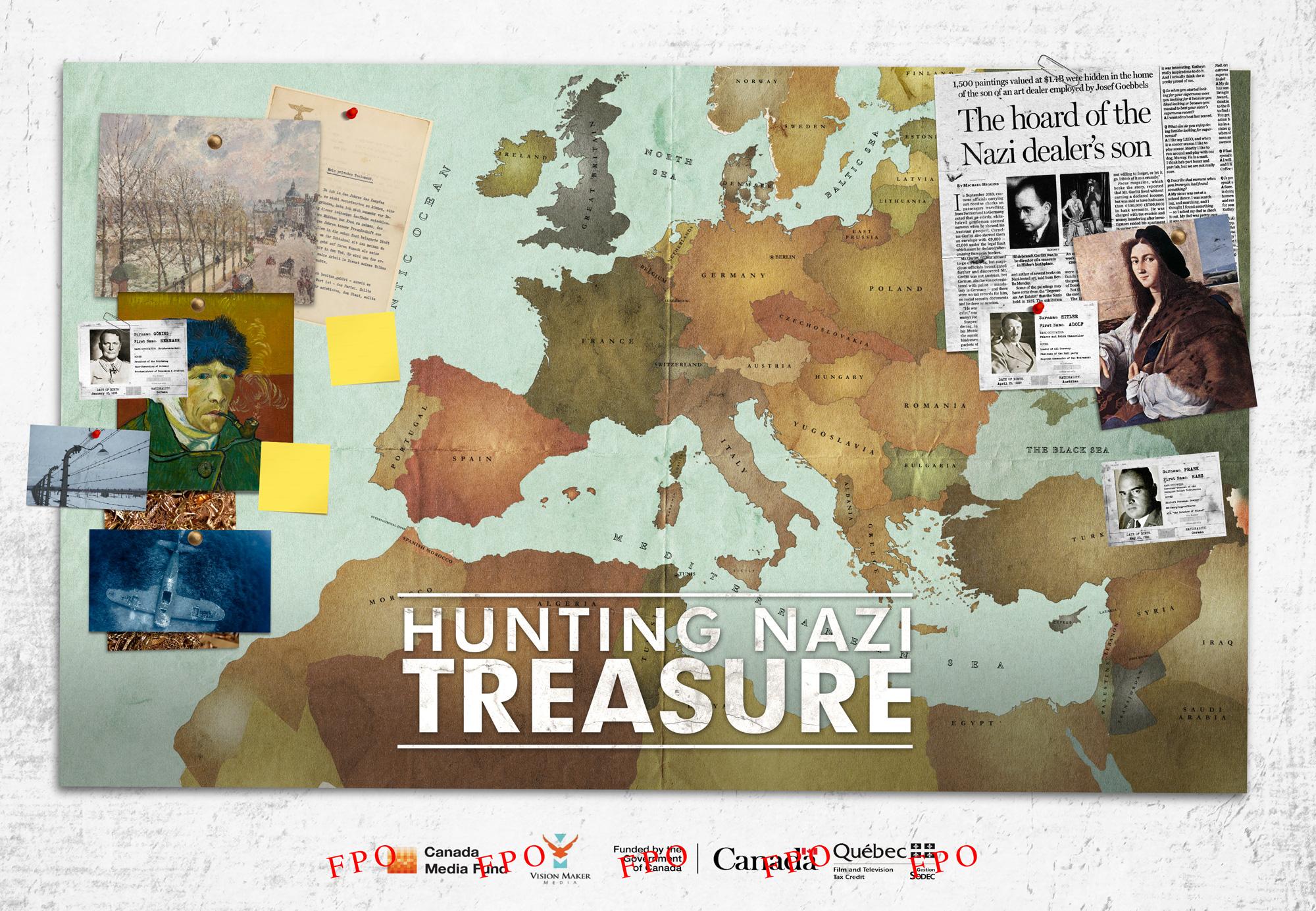 Hunting Nazi Treasure Poster