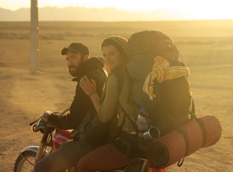 PR 14 Wir leihen uns Motorräder in der iranischen Wüste, Dezember 2013